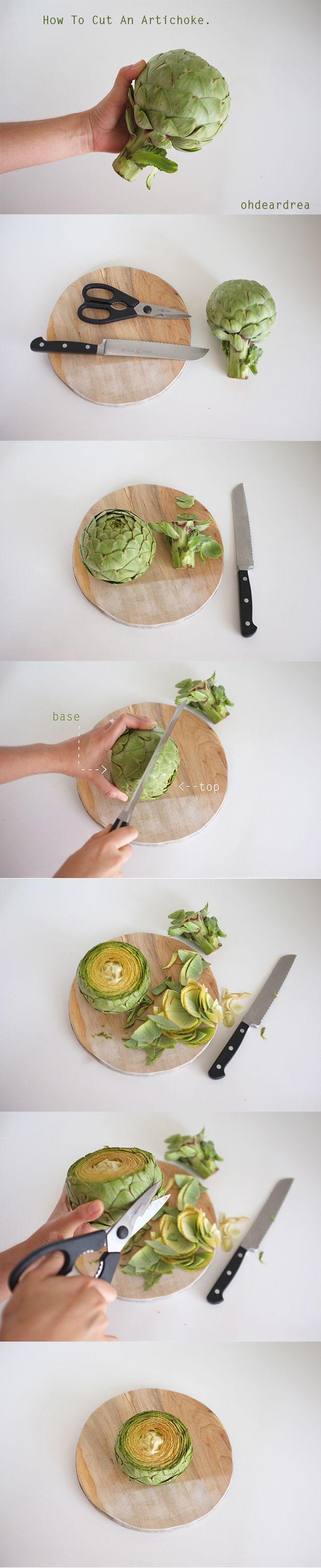 How To Cook An Artichoke - ohdeardrea