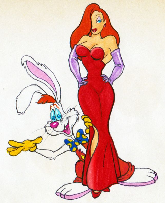 Cartoon Characters Jessica Rabbit : Best jessica roger rabbit images on pinterest