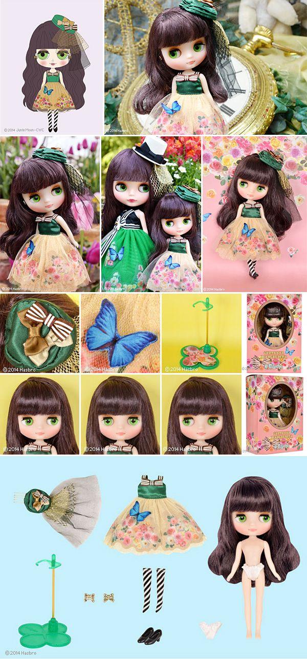 121 best blythe catalog images on pinterest blythe dolls for Blythe le jardin