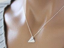 collier origami, Collier d avions en papier