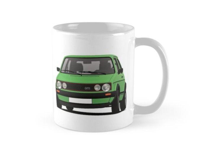 Cornering Golf Gti Coffee Mug Mugs Gti Vw Golf