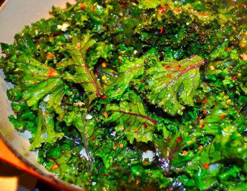 Garlicky Spicy Kale