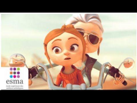 """« Au fil de l'âge », hommage aux grand-mères: """"un court-métrage d'animation poétique et rock 'n' roll !  Des références musicales excellentes servent une histoire émouvante en forme de voyage initiatique entre une grand-mère et sa petite fille.Bravo à Laura BOUQUET, Raphaël CHRISTIEN, Clotilde GILLARDEAU, Matthieu LAILLER, Mélodie Mouton, Romain MACE, Clément AMBIT, Philippe MIRAS, Olivier MOLINA..."""""""
