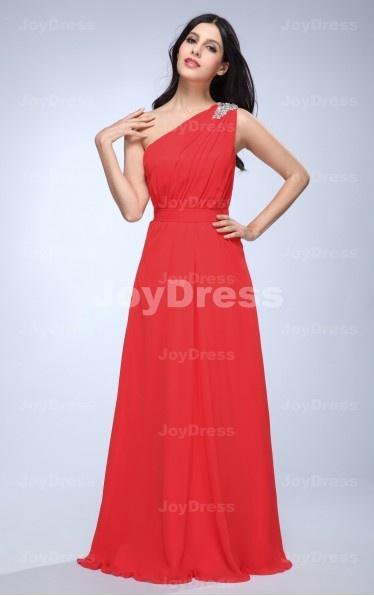 red fancy dress