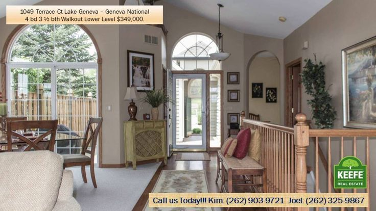 http://ift.tt/29tAdvI Geneva National Golf Course Condo 1049 Terrace Ct. Lake Geneva WI  53147 located in Lake View Terrace a Geneva National neighborhood.  Overlooking the Green of the Par 3 of Player # 17. Ranch design with a main floor master bedroom  walk out lower level with 2 bedrooms and family room. Large golf course deck and golf course screen room off of the family room.  Kitchen with an island and an eat-in breakfast area. Great Room with living and dining areas  vaulted ceilings…