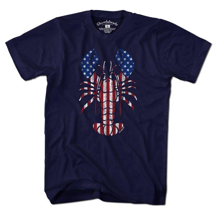 Lobstah 'merica T-shirt