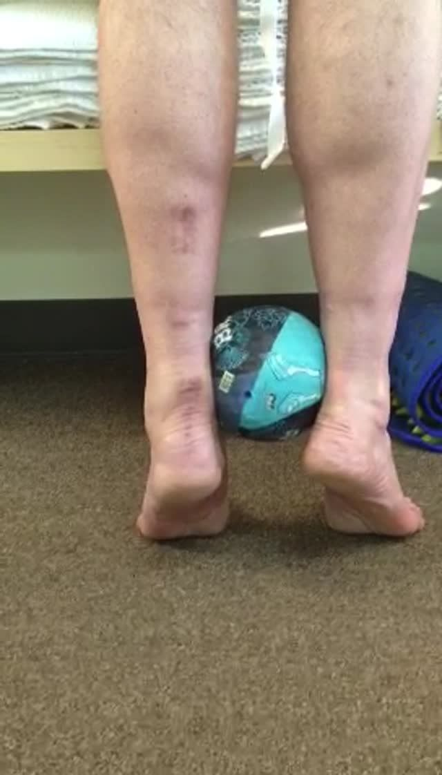 Trade Secret: Proper Calf Raise We are selling off part of the farm here today in giving this one away. This is an exercise we prescribe frequently. When we rise up onto the ball of the foot, most...