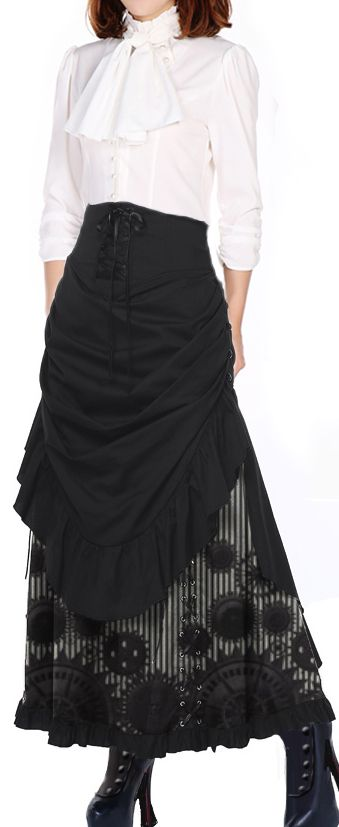 Victorian Steampunk Blouse and Skirt by Chic Star designed by Amber Middaugh