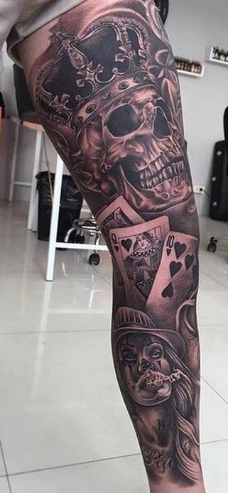 40 male leg tattoos   – Tattoo