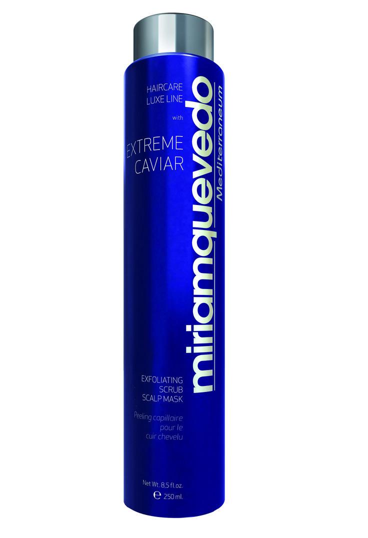 Review Miriam Quevedo Extreme Caviar Exfoliating Scrub Scalp Mask http://cafecosmetique.com/een-scrub-voor-je-hoofdhuid/