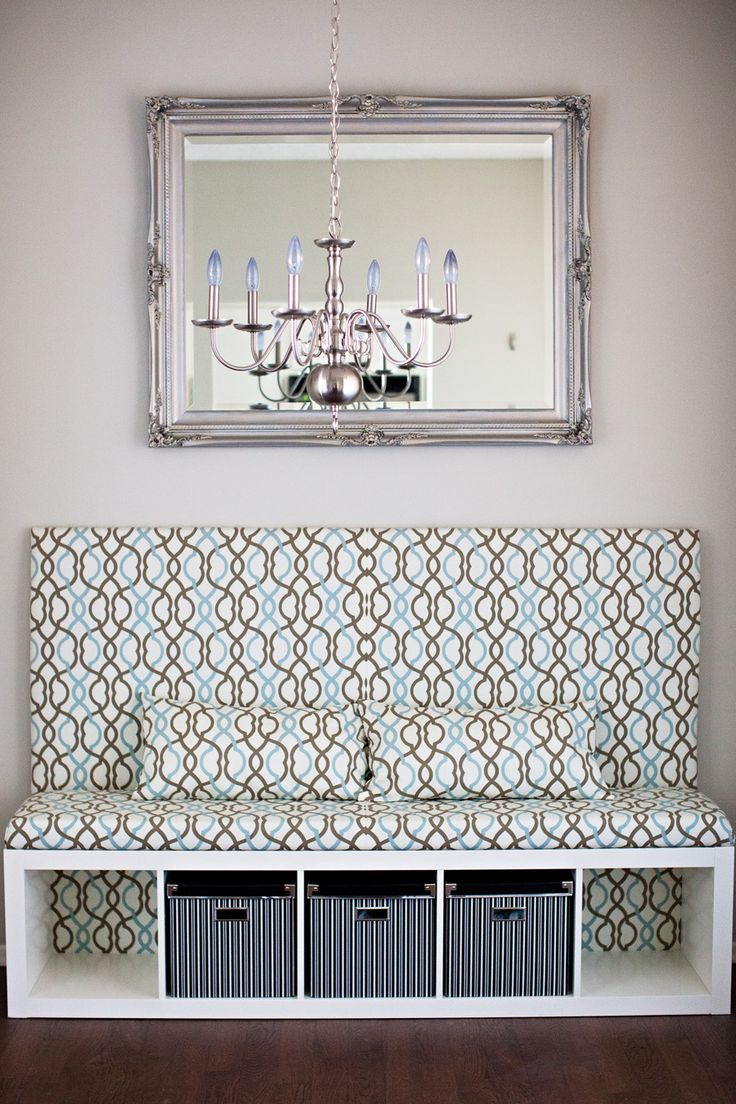 dining room banquette DIY Banquette Seat Ikea Hack Dining Room Makeover melodrama ni5kMHk8