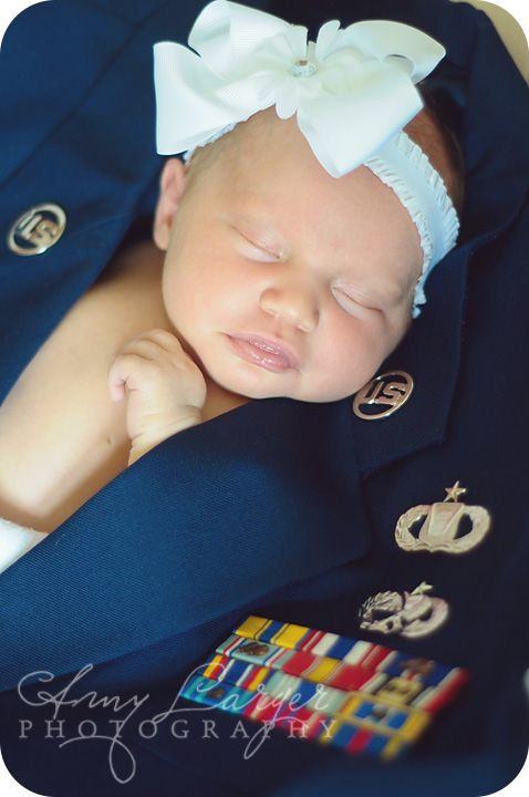 Newborn photography, Military, Air Force, Baby in Blues, Amy Larger Photography