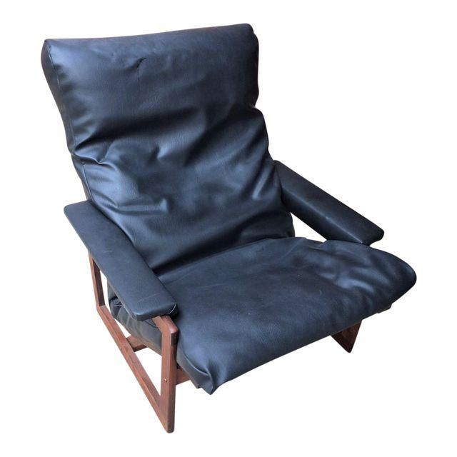 Vintage Lennart Bender Danish Modern Lounge Chair and Ottoman - Image 1 of 6