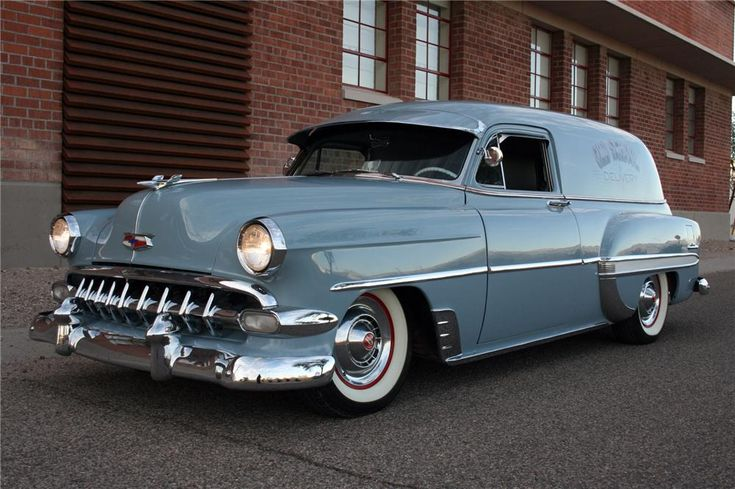 1954 Chevrolet Sedan Delivery Custom