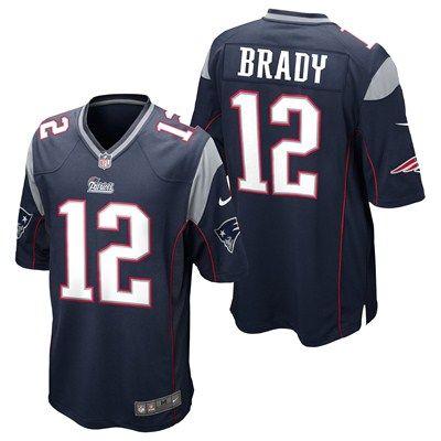 New England Patriots Home Game Jersey - Tom Brady https://www.fanprint.com/licenses/new-england-patriots?ref=5750