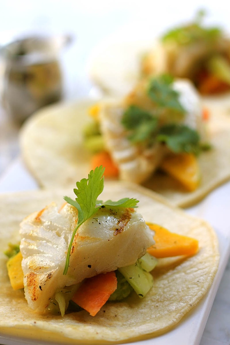 1000 ideas about halibut fish tacos on pinterest for Food network fish tacos