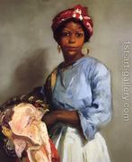 The Laundress  by Robert Henri