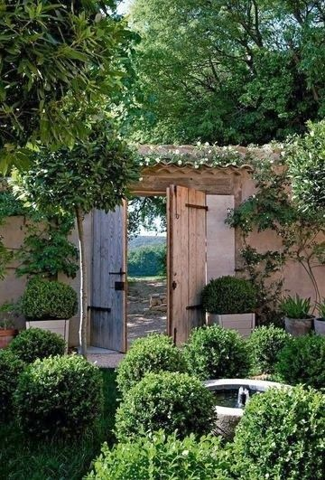 101 best images about garden gates new mexico style on Maison de provence decoration