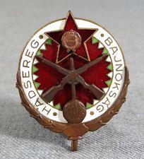 HUNGARY COCKADE BADGE ARMY MILITARY CHAMP SPORT CLUB HADSEREG BAJNOKSAG FOOTBALL