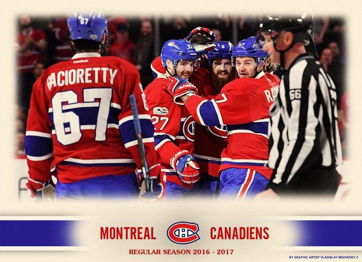 """Монреаль Канадиенс"" 2016-2017 г.г. #nhl #icehockey #нхл #хоккей #montrealcanadiens"