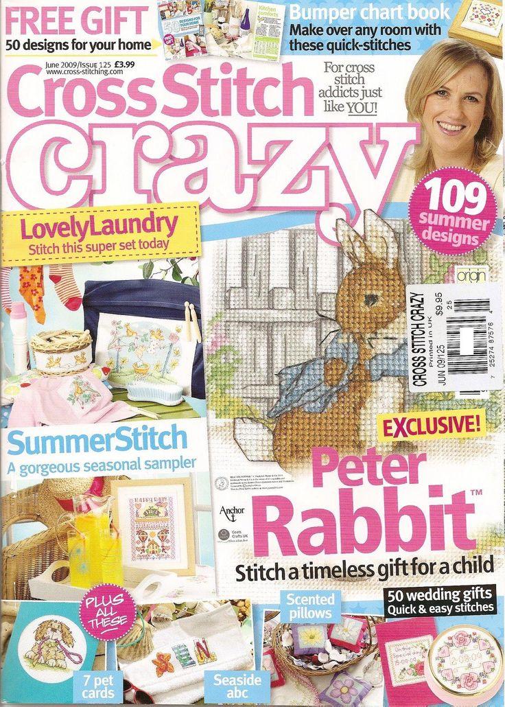 cross stitch  crazy   125   2009   voorzijde