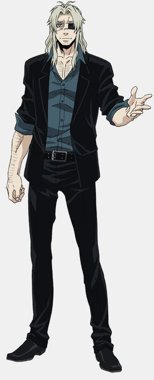 "Crunchyroll - ""Gangsta."" Anime Visual and Additional Character Designs Posted"