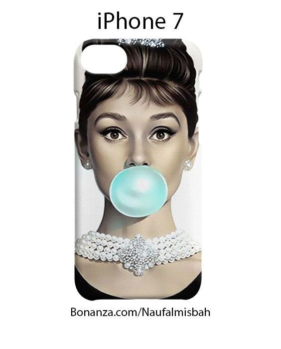 Audrey Hepburn iPhone 7 Case Cover Wrap Around