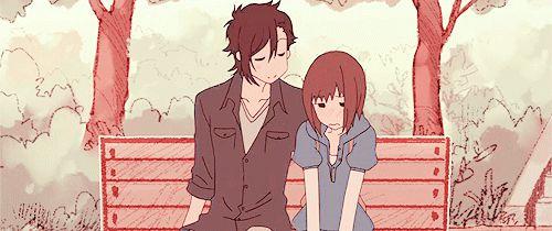 Suki-tte ii na yo, Say, I love you. Mei Tachibana pushing Yamato Kurosawa ♡