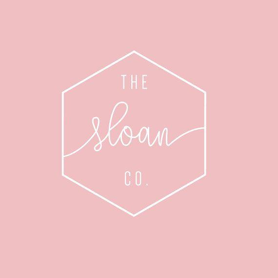 Premade Logo | Couleurs personnalisables! | Minimaliste | Géométrique Logo | Logo Design intérieur | Logo moderne | Boutique | Salon | Photographie