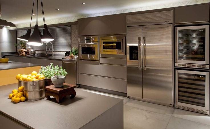 Projeto  Arnaldo Pinho, Mostra de Decoração Casa Cor 2012, Cozinha