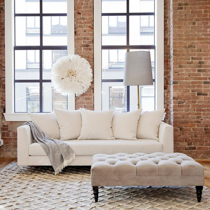 The Katharine Sofa. You're a real beauty! Have you seen our in house furniture line? #TheCrossFurnitureCollection Each piece is made locally and can be completely customized. Come check it out! #KatharineSofa