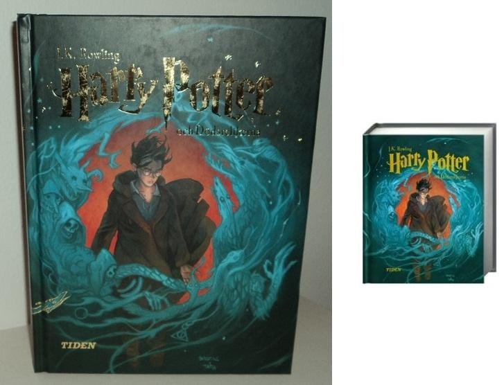 Harry Potter och dödsrelikerna..one day i'll get this copy :( can't seem to find one available