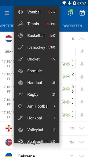 SofaScore Live Score v5.28.1 [Ad Free]   SofaScore Live Score v5.28.1 [Ad Free]Requirements:4.1 and upOverview:SofaScore is sports live score app with widget that gives you live coverage (results fixtures standings video etc.) for ALL LEAGUES and competitions in 17 sports.  SofaScore is sports live score app with widget that gives you live coverage (results fixtures standings video etc.) for ALL LEAGUES and competitions in 17 sports:  Football (Soccer) Basketball Ice Hockey Tennis Motorsport…