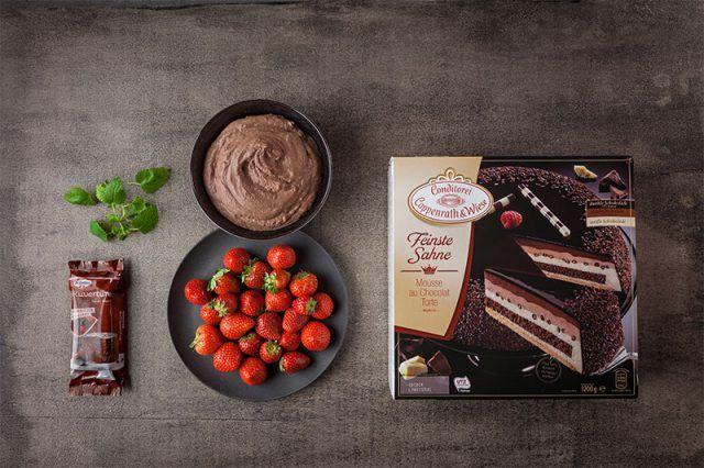 Schnelle Schokoladen-Erdbeer-Torte – Torten