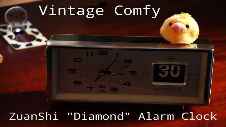 "ZuanShi ""Diamond"" Flip Alarm Clock"