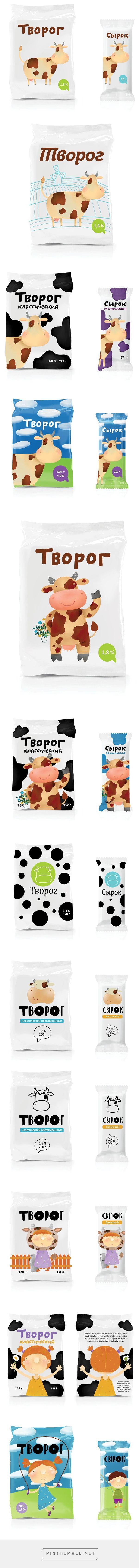 Оформление молочной продукции (Концепт) curated by Packaging Diva PD. The cutest #packaging to end your week : ) created via http://thebestpackaging.ru/2012/08/oformlenie-molochnoy-produktsii-kontsept.html