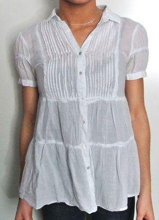 A vendre sur #vinted ! http://www.vinted.fr/femme/autres-hauts/12684508-chemise-legere-bleu-clair-zara-basic