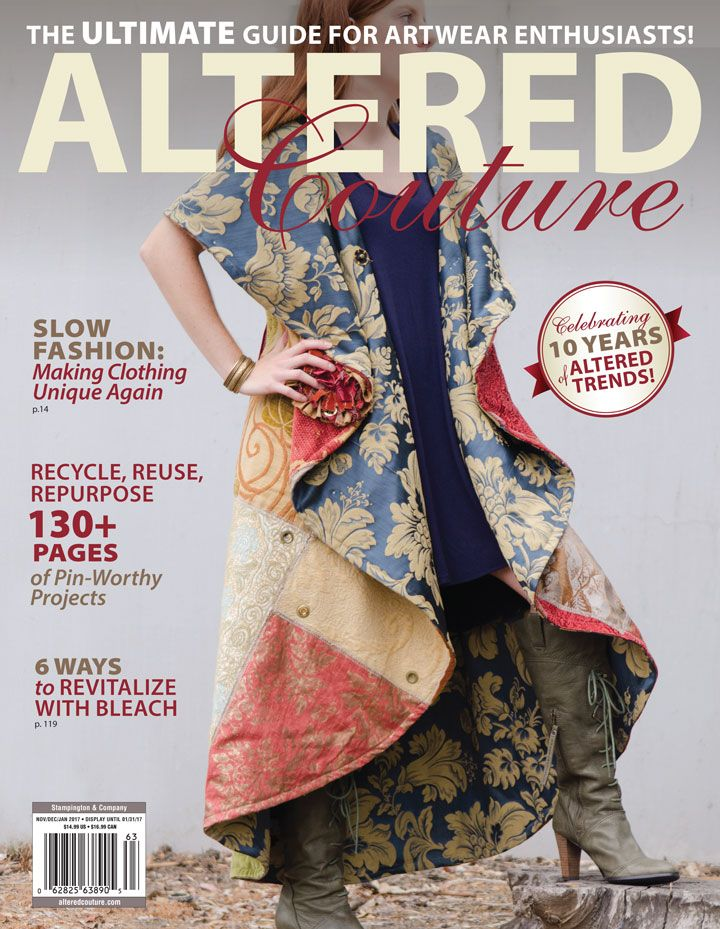 Recycle, reuse, and repurpose with 130+ pages of pin-worthy projects, including patchwork creations and bleached designs.