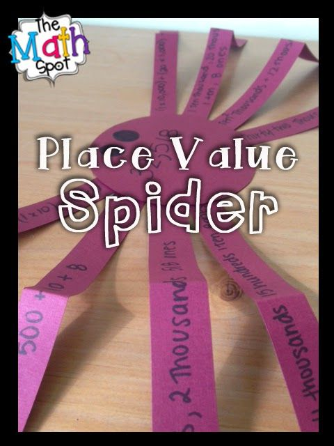 Numbers are CREEPILY Flexible Halloween place value craft. Easily differentiated for kindergarten through 5th grade.