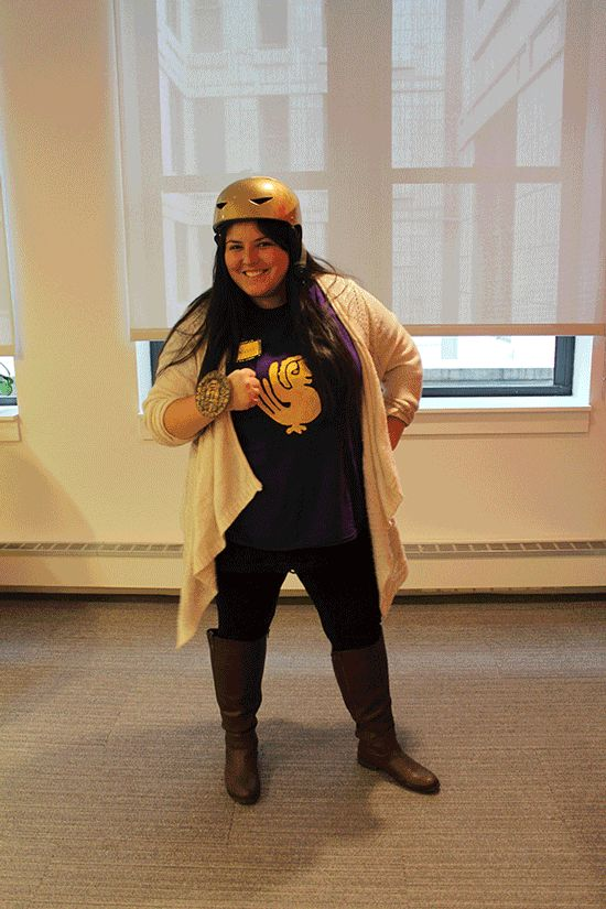 Legends of the Hidden Temple Contestant | 35 BuzzFeed Employees Who Dressed Up For Halloween