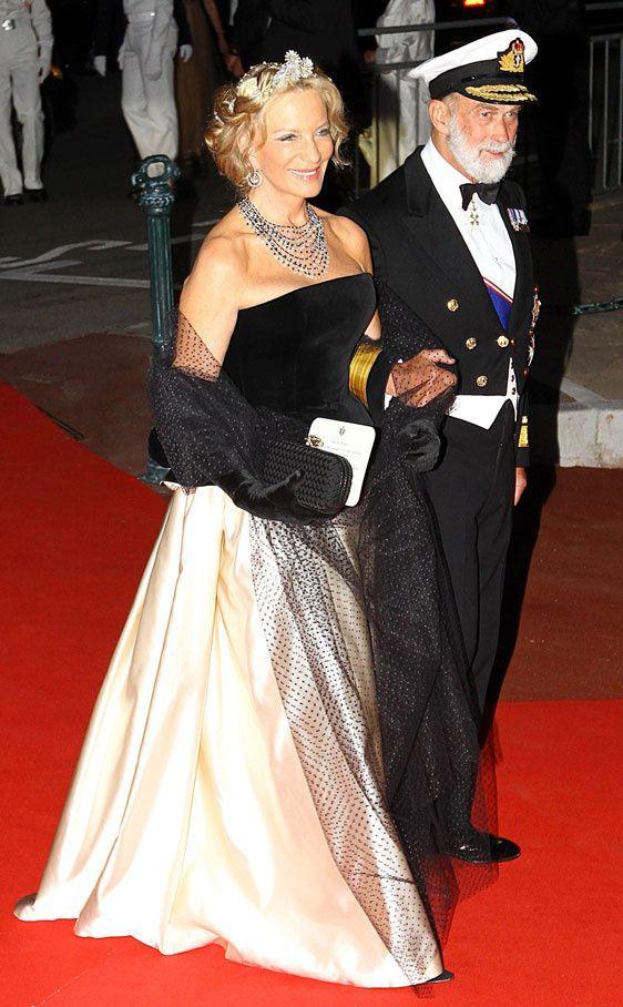 El príncipe Miguel de Kent y su esposa. La princesa María Cristina de Kent, nacida baronesa María Cristina Von Reibnitz