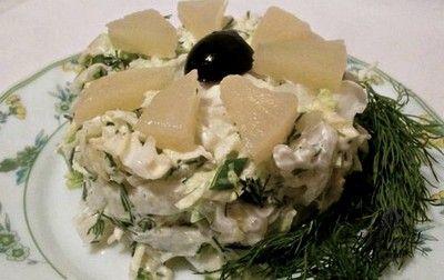 Ананасовый салат с капустой | Женское кредо