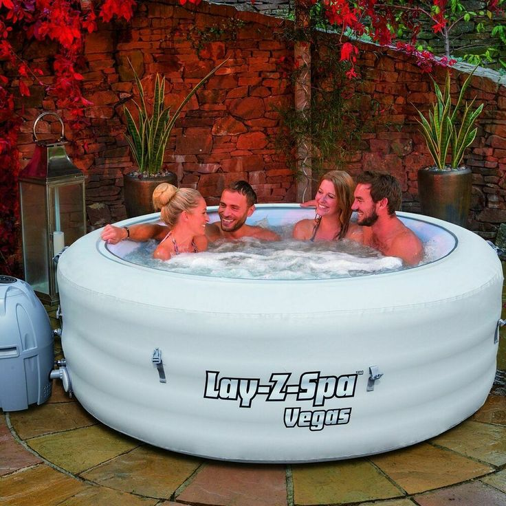 Bestway Lay Z Spa 2016 Vegas Inflatable Portable Hot Tub Jacuzzi 4 6 Person Spa Hottub Massage Spa Hot Tubs Hot Tub Inflatable Hot Tubs
