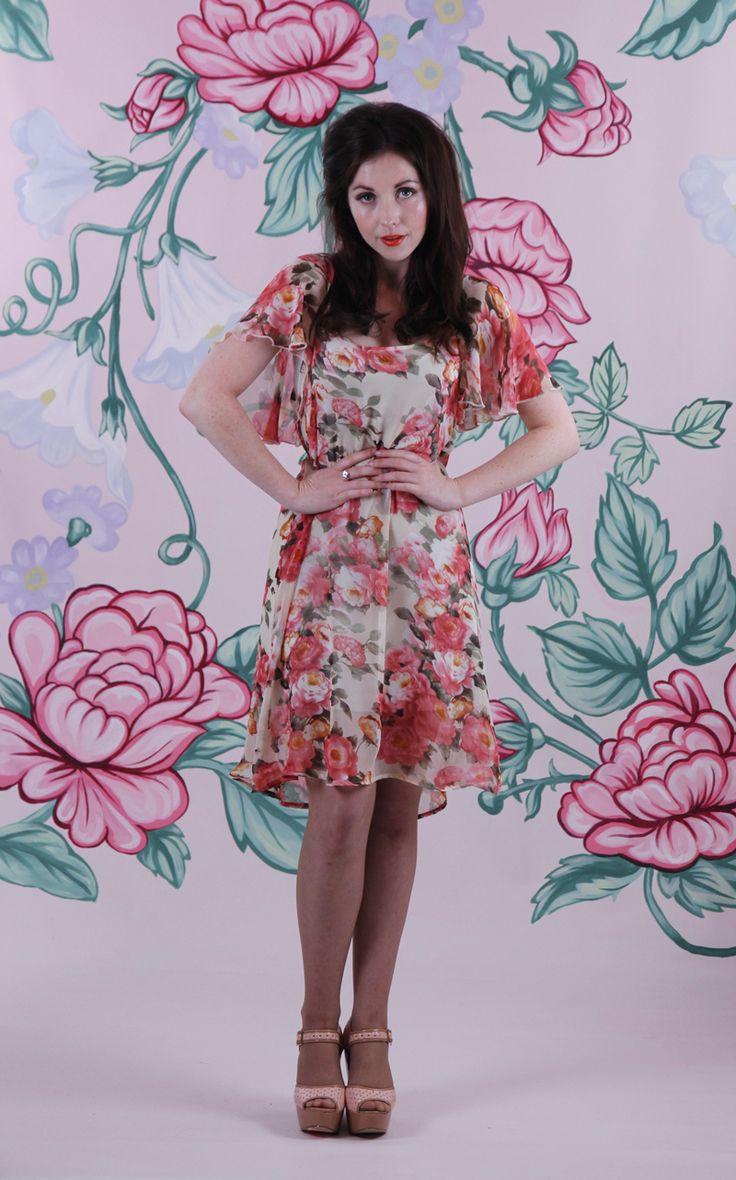 Harriett Falvey - Essential Dress - Roses