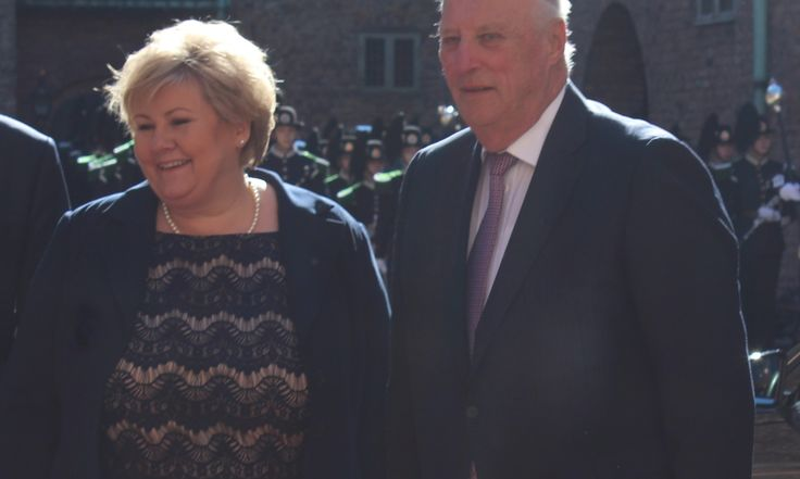 """""""Norwegian Prime Minister Erna Solberg, [showed] lack respect for His Majesty the King and his elected Assembly,"""" said the former President of the Stortinget (theNorwegian national ass…"""