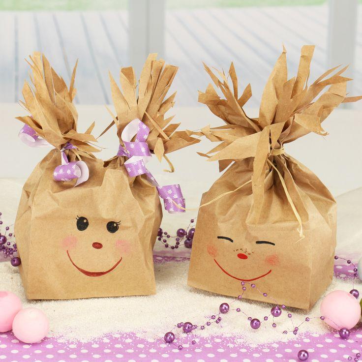 Möchtest du für einen Kindergeburtstag eine niedliche Geschenktüte gestalten?…