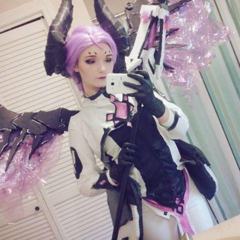 Imp Mercy cosplay! Overwatch