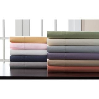 Cal King - White Shop for Hemstitch 400 Thread Count Sateen Solid Cotton Sheet Set. Get free shipping at Overstock.com - Your Online Sheets