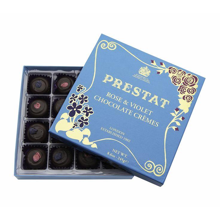 Prestat Chocolates | Rose & Violet Crèmes 245g