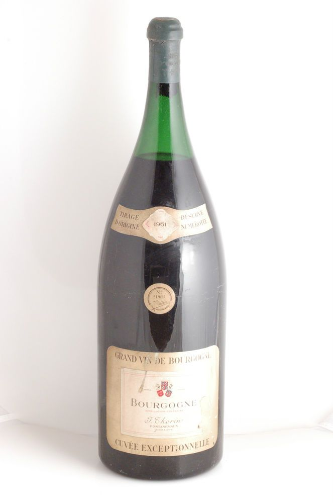 Bourgogne, Thorin, Pontanevaux, 1961, Mathusalem (6 L = 8 Bouteilles)